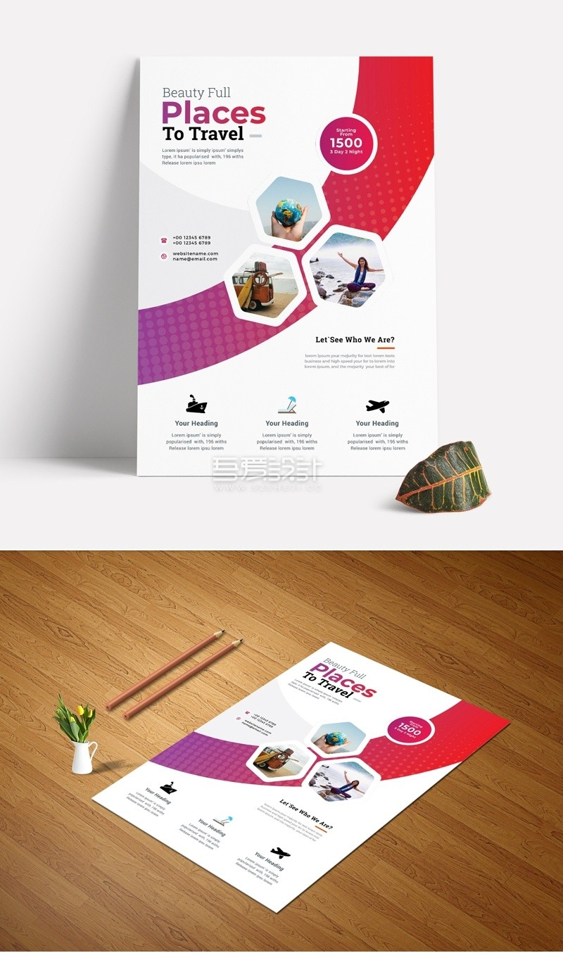 best-travel-tourism-flyer-2020-with-hexagon-3362785-preview