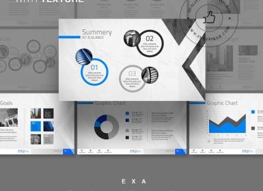 Exa创意业务PowerPoint演示模板